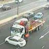 Peak-hour delays on Monash Freeway after truck crash