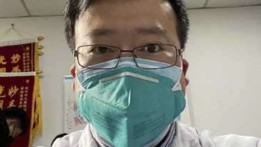 "Ophthalmologist Li Wenliang was warned off by police for ""spreading rumours"" by trying to warn of the disease."