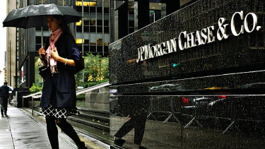 Economists at JPMorgan Chase have slashed their forecast for the first quarter to a negative 1 per cent annual GDP rate.