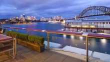 John McGrath picked up the split-level penthouse in Walsh Bay for $6.95 million in 2011.