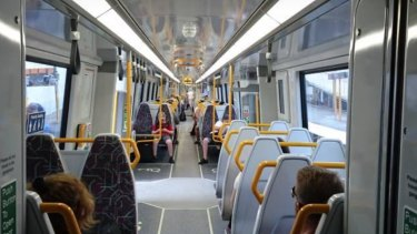 Only one of Queensland's 75 new trains has had the aisles widened and a second, larger toilet added for people in wheelchairs.