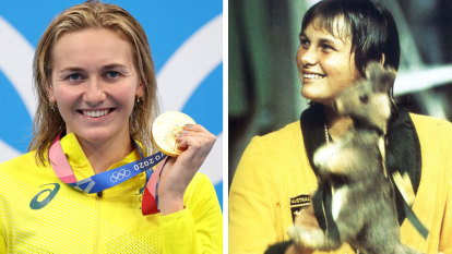 Gould hails Titmus as 'Australia's new sporting heroine' as she chases treble
