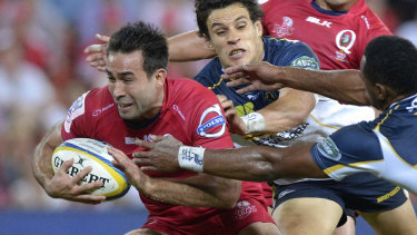 Rod Davies during his days with the Queensland Reds.