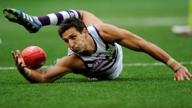 Fremantle captain Matthew Pavlich seen in the 2013 AFL grand final at the MCG.