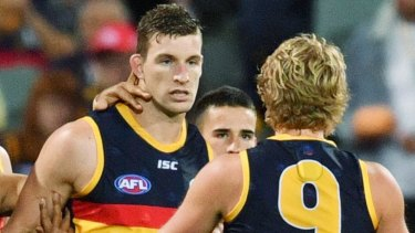 Josh Jenkins is surprised at trade talk surrounding his potential move away from Adelaide.