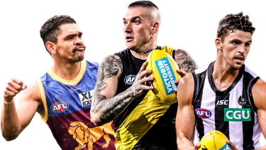 Some of the AFL's elite.