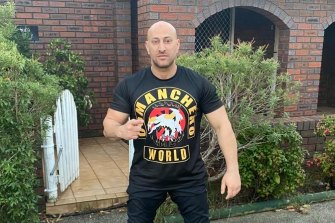 National sergeant-at-arms of the Comanchero bikie gang, Tarek Zahed, has fled overseas.