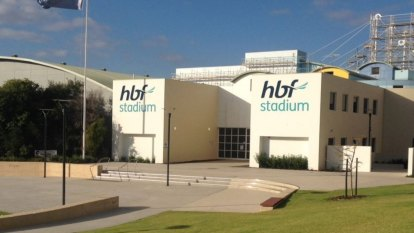 VenuesWest, scaffolder fined after worker falls to his death at HBF Stadium