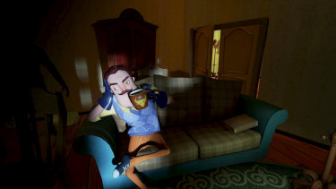 Unreal-powered horror game Hello Neighbour became a hit on mobile devices.