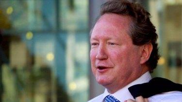 Andrew Forrest says Australia should not demonise China.