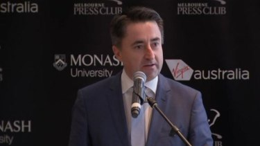 Gaven Morris addressed the Melbourne Press Club about the latest round of ABC funding cuts.