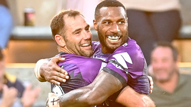 Suliasi Vunivalu and Cameron Smith were both involved in controversial incidents on Saturday night.