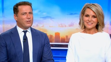 Today hosts Karl Stefanovic and Georgie Gardner will lead coverage of the royal wedding.