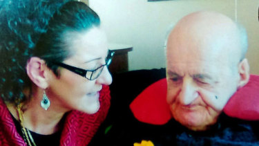 Noleen Hausler detailed how her vulnerable 89-year-old father who had dementia was assaulted by a nursing home carer.