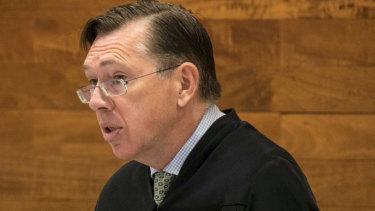 Supreme Court Justice Stephen Hall.
