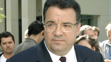Then Senator Santo Santoro announces his resignation as Minister for Ageing and as a member in 2007.