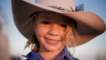 Kate and Tick Everett have campaigned against bullying since the death last year of their daughter Dolly. Dolly is pictured here as a child, when she was the face of an Akubra ad campaign.