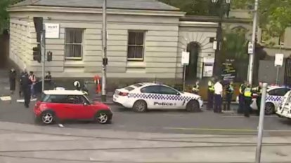 One man in hospital following Melbourne CBD road rage incident