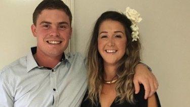 Joshua Davies and Ayla Cresswell