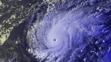 Hurricane Lane is expected to track across the Hawaiian island chain.
