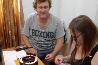 Michael Petersen and his wife Linda celebrated her birthday while he was in police detention.