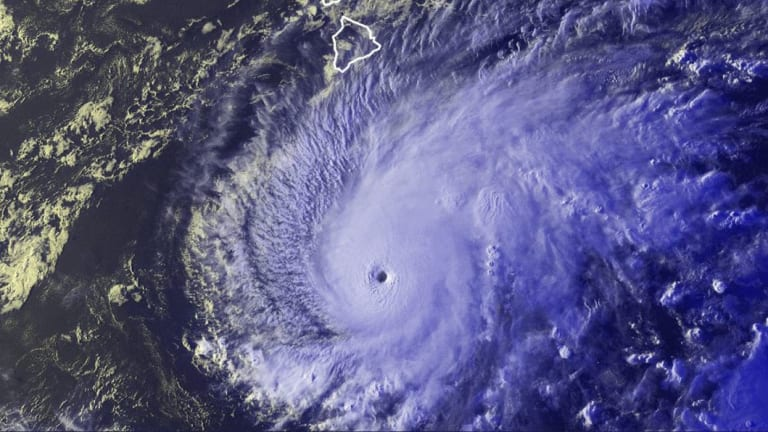Hurricane Lane is expected to track across the Hawaiian island chain.