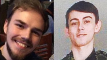 Kam McLeod, 19, and Bryer Schmegelsky, 18, were reported by their families as being out of contact.