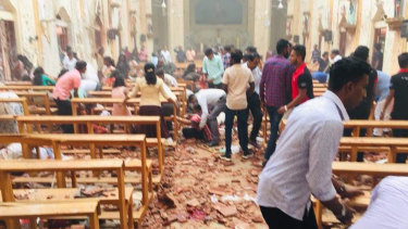 At least 50 dead after Sri Lanka bombing
