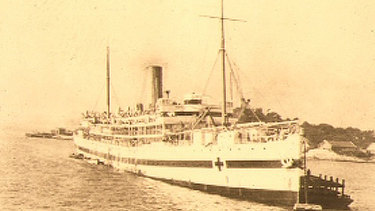 The SS Kanowna sank off Wilsons Promontory in 1929