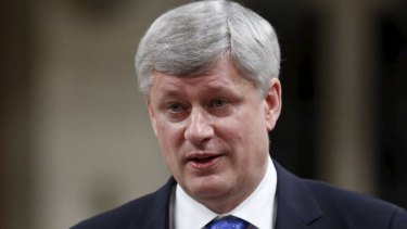 Canada's former prime minister Stephen Harper has counselled conservatives to heed the messages of rising populist movements.