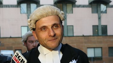 Law Council of Australia president Arthur Moses, SC.