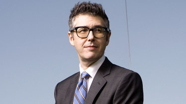 Ira Glass, creator of podcast This American Life.