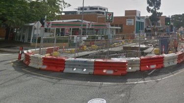 Major construction on the Kingsford Smith Drive upgrade will close a main intersection.