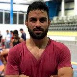 Iranian Greco-Roman wrestler Navid Afkari.