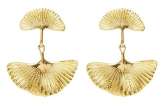 "Aje ""The Petal Drop"" earrings."
