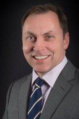 New head of eHealth Queensland Damian Green.