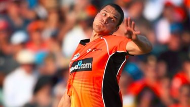 Nathan Coulter-Nile at the Scorchers.