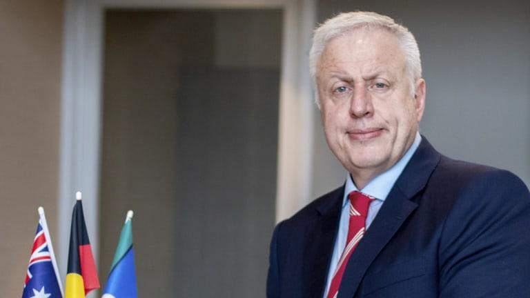 RACGP president-elect Dr Harry Nespolon.