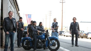 Sons of Anarchy on Stan.