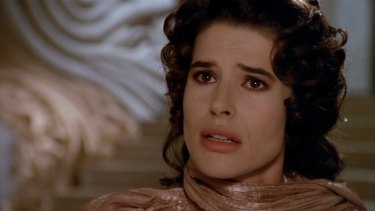 Fanny Ardant in Life is a Bed of Roses.