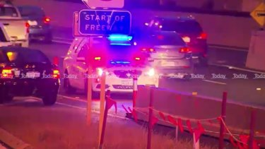 Kwinana Freeway has been closed after a fatal crash on Thursday morning.