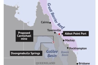 Adani's proposed Carmichael coal mine is one of at least seven such mines that could be developed in the Galilee Basin.