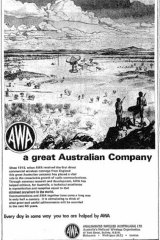 AWA ad in Sydney Morning Herald of February 24, 1969
