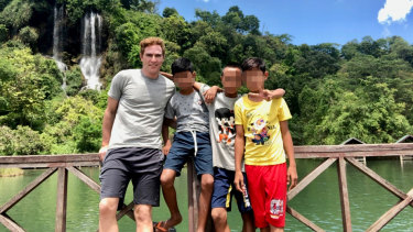 Adam Fox, 44, has been accused of child sexual abuse in Thailand.
