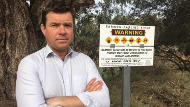 Roy Butler, the Shooters, Fishers and Farmers candidate for the seat of Barwon, has water issues clear in his sights.
