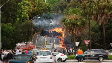 Fatal truck accidents have increased since the horror tanker crash on Mona Vale Road in Sydney in 2013.