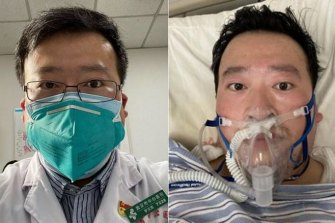 Dr Li Wenliang was threatened by police after warning other doctors about early cases of COVID-19, which he at first thought might be SARS returning. He died from the illness on February 7.