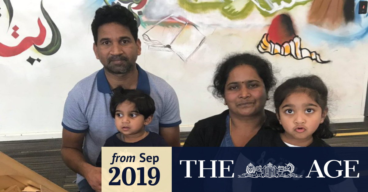 Tamil family moved to Christmas Island to avoid 'volatile' protests: Dutton