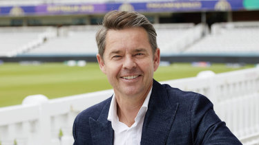 Former tennis champion Todd Woodbridge is swapping a racquet for a bat as he takes up a new role hosting Nine's Ashes coverage.
