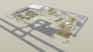 The Myalup Karla Waanginy layout.